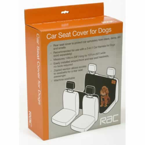 RAC Car Seat Cover for Dogs 1