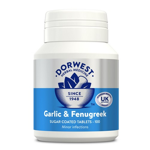 Dorwest Garlic & Fenugreek 100 Tablets 1