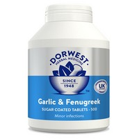 Dorwest Garlic & Fenugreek 500 Tablets