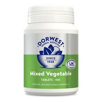 Dorwest Herbs Mixed Vegetable 100 Tablets