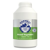 Dorwest Herbs Mixed Vegetable 500 Tablets
