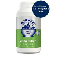 Dorwest Green Releaf 200 Tablets