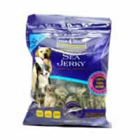 Fish 4 Dogs Sea Jerky Squares 100g