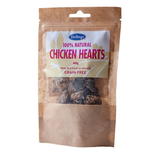 Hollings 100% Natural Chicken Hearts 1