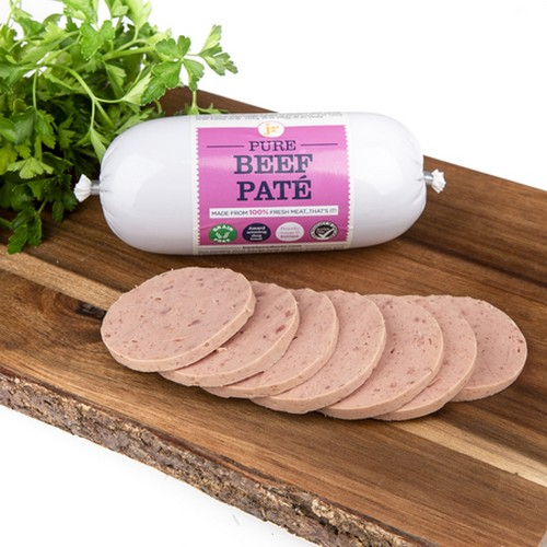 JR Pet Products Pure Beef Pate 400g 1