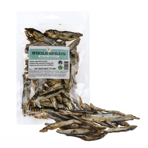 JR Pet Products Dried Whole Baltic Sprats 85g 1