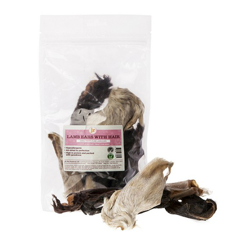 JR Pet Products Lamb Ears with Hair 100g 1