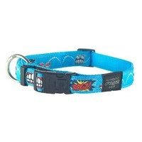 ROGZ Extra Large (Armed Response) Fancy Dress Nylon Dog Collar