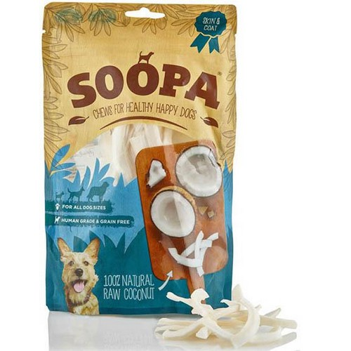 Soopa 100% Natural Raw Coconut Dog Treat 1