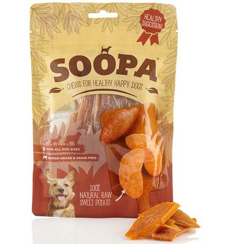Soopa 100% Natural Sweet Potato Dog Treat 1