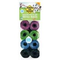 Bags on Board Refill Rolls Patterned Pack 120 Bags