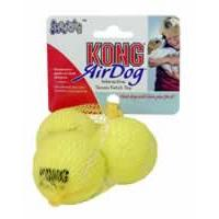 KONG Air Dog Squeaker Small Tennis Ball (Pack of 3)