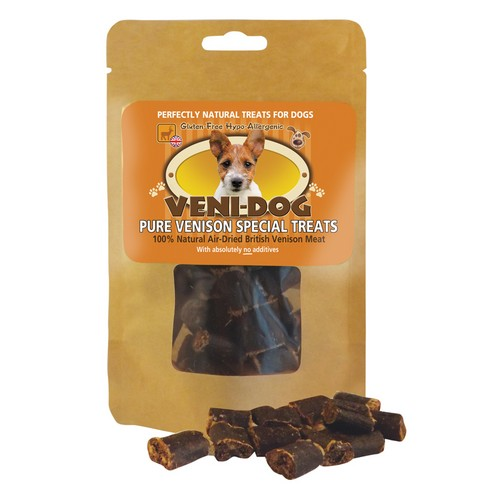 VENI-DOG Pure Venison Special Treats 1